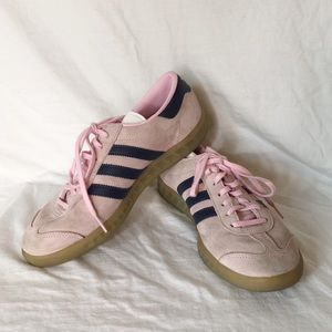 Adidas Pink Sneakers Size 8 Almost New